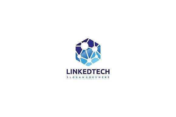 Technology Hexagonal Logo