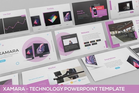 XAMARA Technology Powerpoint