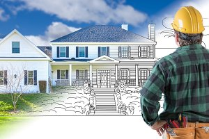 Contractor Facing House Drawing