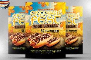 OktoberFest Food Flyer Template V3