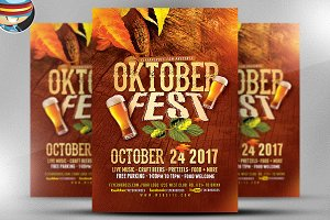 OktoberFest Flyer Template 2017