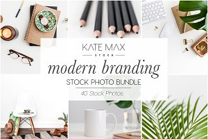 Modern Branding Stock Photo Bundle