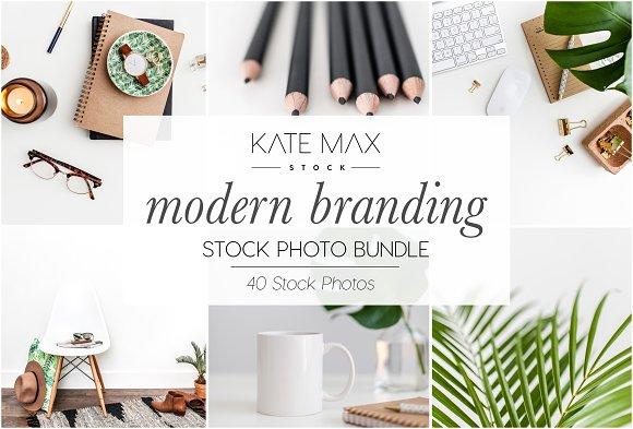 Modern Branding Stock Photo Bundle