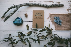 Nature & Exploration Flatlay