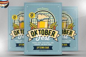 Retro Oktoberfest Template