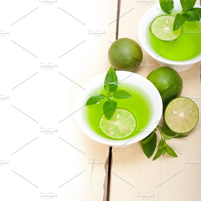 mint tea infusion with lime 009.jpg - Food & Drink