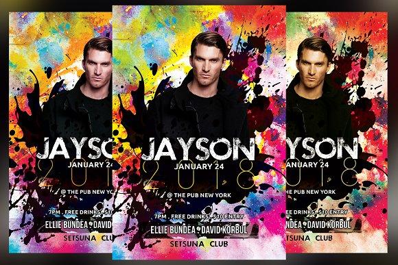 DJ Color Club Flyer