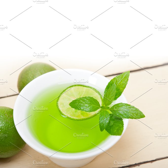 mint tea infusion with lime 014.jpg - Food & Drink