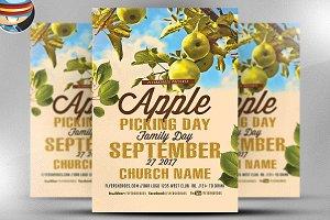 Church Community Apple Picking Flyer