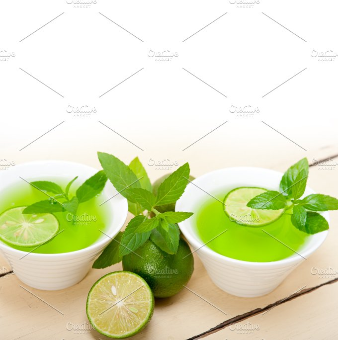 mint tea infusion with lime 022.jpg - Food & Drink
