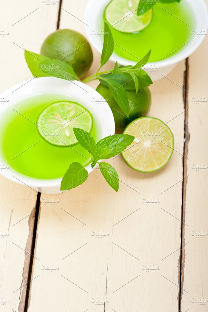 mint tea infusion with lime 027.jpg - Food & Drink
