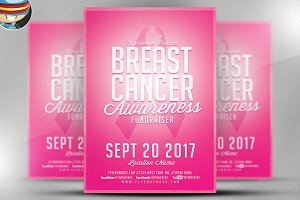 Cancer Awareness Fundraiser Flyer