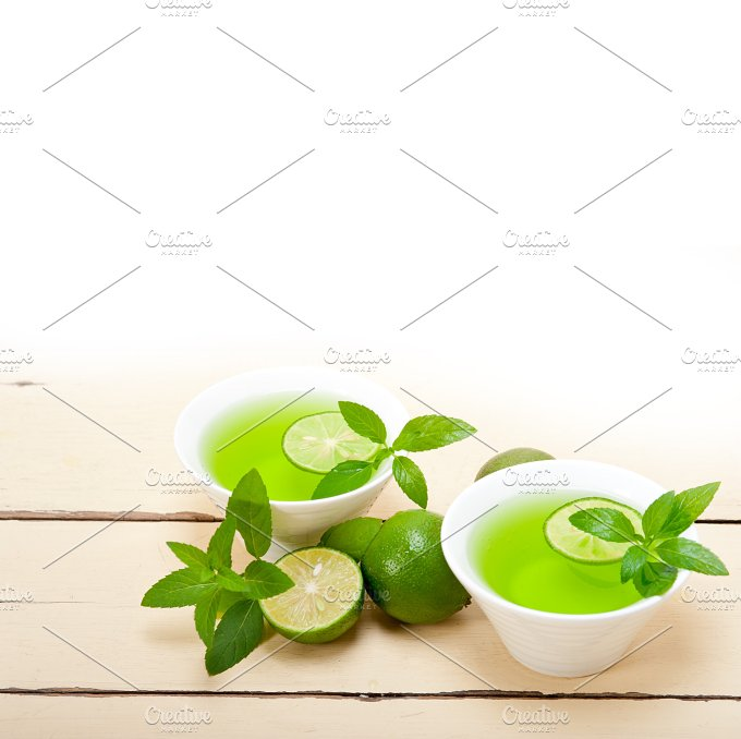 mint tea infusion with lime 032.jpg - Food & Drink