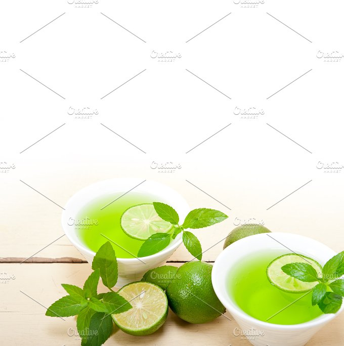 mint tea infusion with lime 031.jpg - Food & Drink