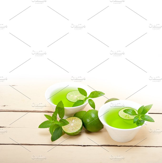 mint tea infusion with lime 033.jpg - Food & Drink