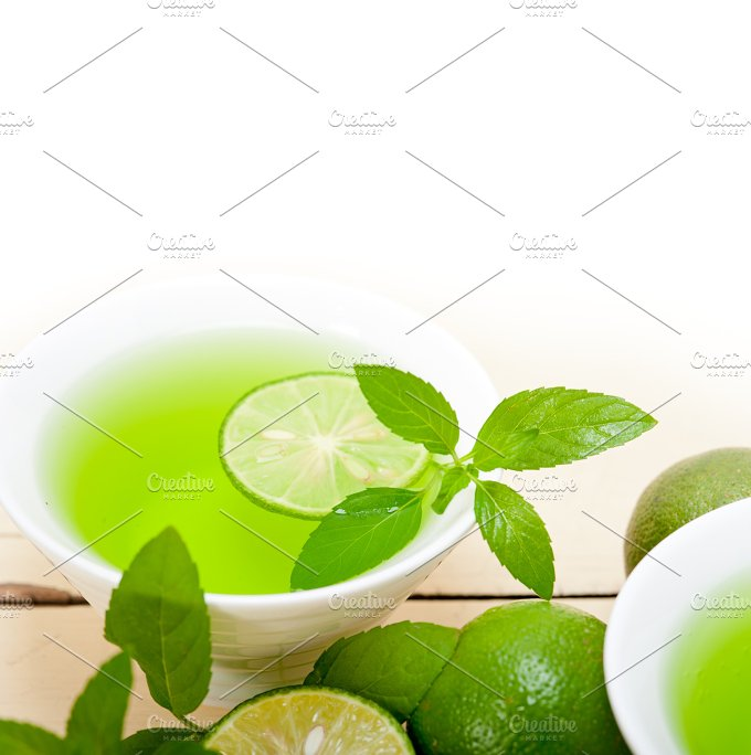 mint tea infusion with lime 035.jpg - Food & Drink