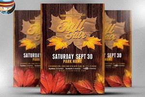 Fall Festival Flyer Template v2