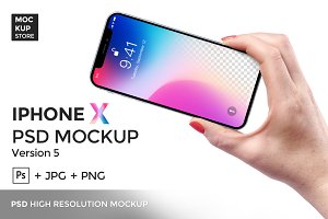 iPhone X Mockup version 5