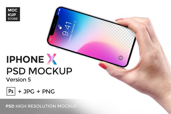 Download iPhone X Mockup version 5
