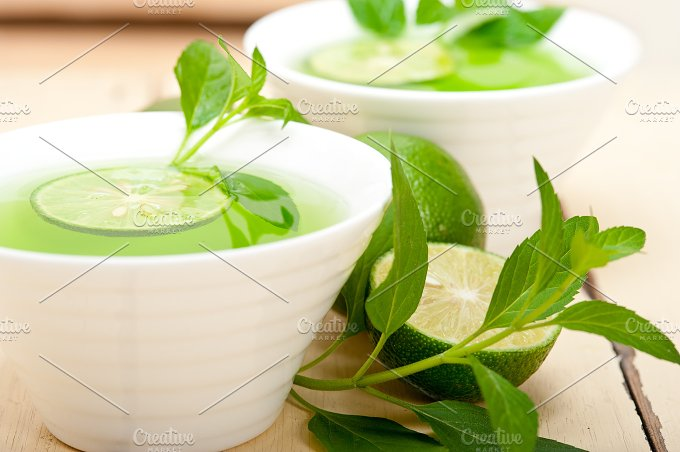 mint tea infusion with lime 046.jpg - Food & Drink
