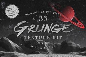 Grunge texture kit