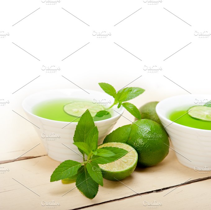 mint tea infusion with lime 052.jpg - Food & Drink