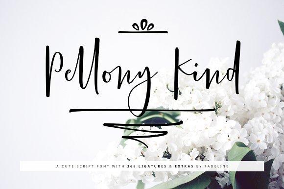 Pellony Kind Cute Script