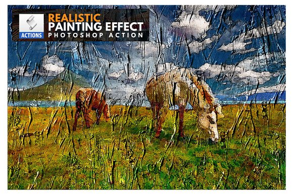 Photo To Painting Photoshop Action