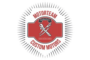Motorteam Custom motors T-shirt