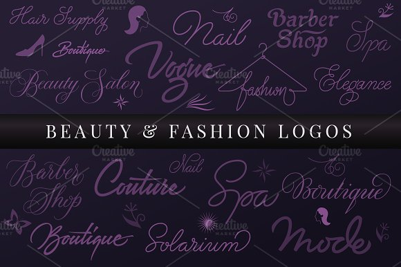 Beauty Fashion Logos