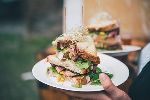 Steak sandwich