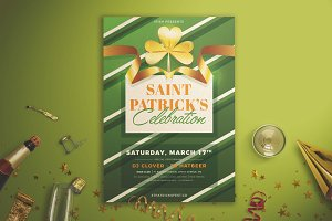 St. Patrick's Celebration Flyer