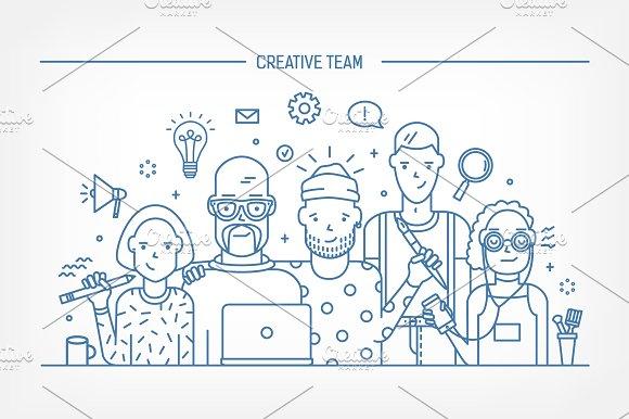 Creative Business Team Concept