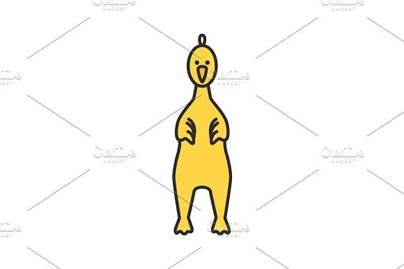 Rubber Chicken Color Icon