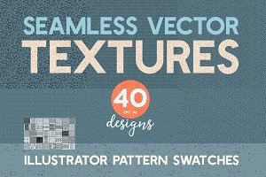 40 Seamless Vector Pattern Textures