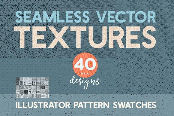 40 Seamless Vector Pattern Textures
