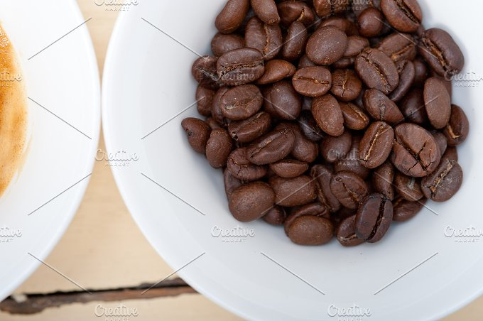 espresso coffee and beans 006.jpg - Food & Drink