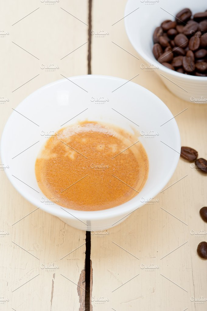 espresso coffee and beans 003.jpg - Food & Drink