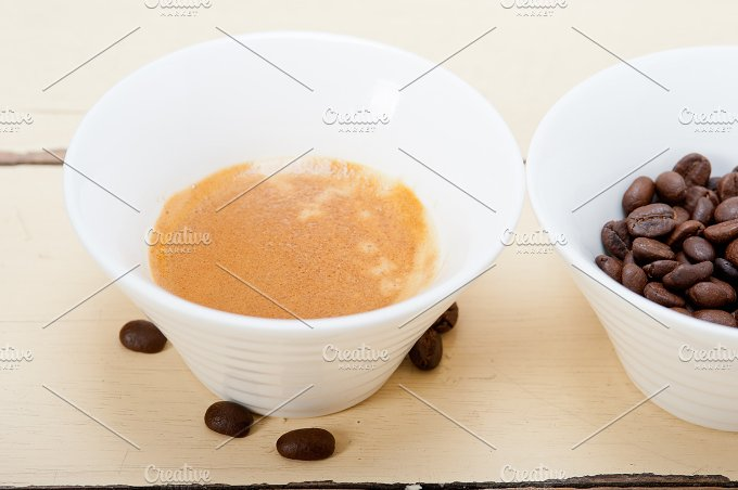 espresso coffee and beans 007.jpg - Food & Drink