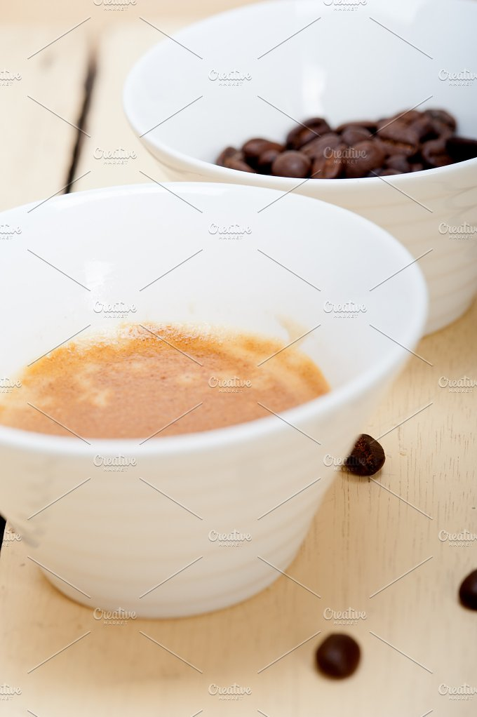 espresso coffee and beans 010.jpg - Food & Drink