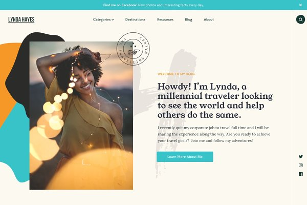 Themes: Pixelgrade - Vasco - WordPress Travel Blog Theme