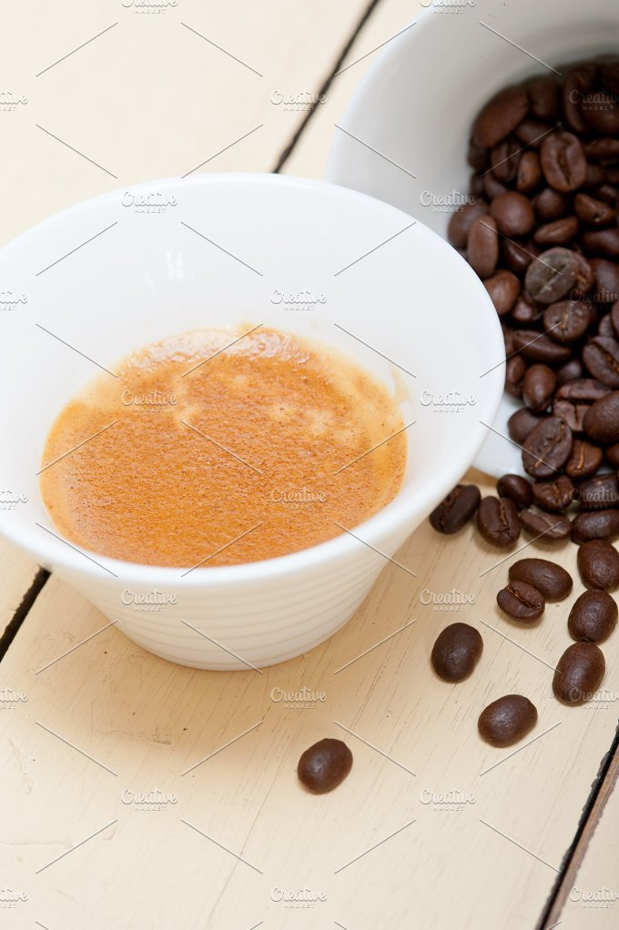 espresso coffee and beans 014.jpg - Food & Drink