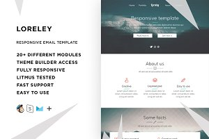 Loreley – Email template + Builder
