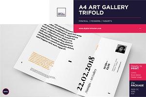 nostalgia: Trifold Invitation