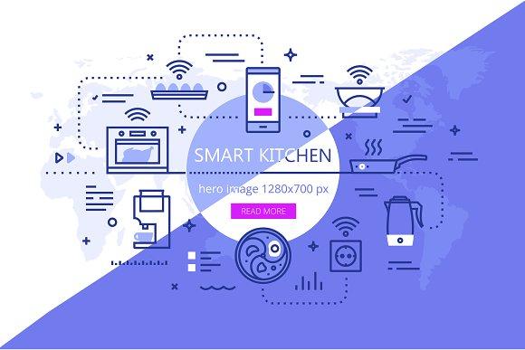Smart Kitchen Banner Set