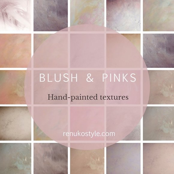 Blush Pinks Texture Bundle