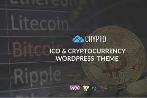 Crypto - Cryptocurrency WP Theme