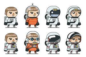 Space Sci-fi Cosmonaut Astronaut