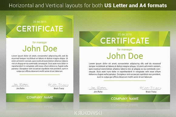 50 certificate templates to design stunning awards creative new certificate template yelopaper Images
