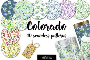 """Colorado"". 10 patterns."